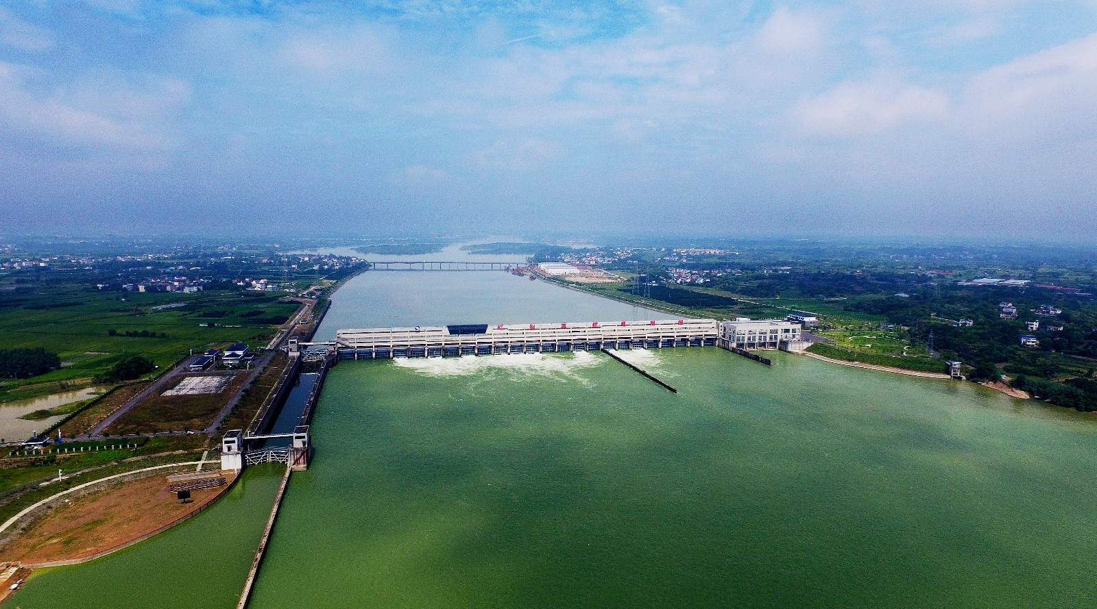 钱塘江中上游衢江(衢州段)航运开发工程